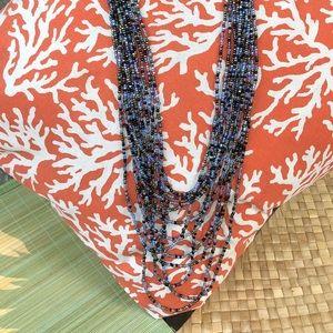 Jewelry - Handmade Glass Bead Statement Necklace